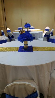 a7b9bd590203d Baby Shower Music Theme Royal Blue And Gold Prince In