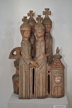 Margit Kovacs Hungarian Women, Types Of Wood, Wood Carving, Wood Art, Bookends, Museum, Sculpture, Ceramics, Character