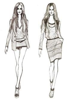 Easy Fashion Sketches | fashion design,fashion illustration,rimmamaslak