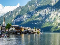 https://flic.kr/p/pN7EFd | The village Hallstatt in Austria |  Buy this photo on Getty Images : Getty Images  Hallstatt, Upper Austria, is a village in the Salzkammergut, a region in Austria. It is located at the Hallstätter See (a lake).  Hallstatt is known for its production of salt, dating back to prehistoric times, and gave its name to the Hallstatt culture, a culture often linked to Celtic, Proto-Celtic, and pre-Illyrian peoples in Early Iron Age Europe, c.800–450 BC. Some of the…