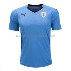 Uruguay 2018 Landslagsdrakt Kortermet Hjemme Fotballdrakter Mens Tops, T Shirt, Vm, Liverpool Fc, Arsenal, Sports, Uruguay, T Shirt Store, Shirts