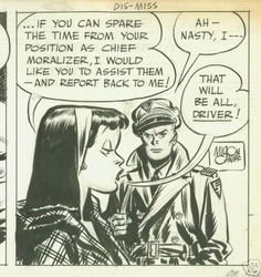 Terry and the Pirates Comic Strip | TERRY / PIRATES original daily comic strip art CANIFF