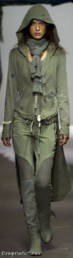 Visions of the Future: Greg Lauren S/S 2015