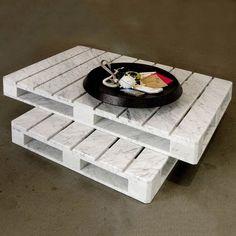 Fancy - Marble Pallet Table