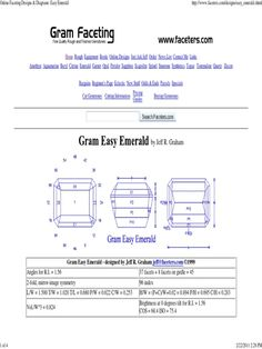 gemstone emerald cut index and degrees - Google Search Emerald Cut, Books Online, Amethyst, Gemstones, Google Search, Crystals, Gems, Amethysts