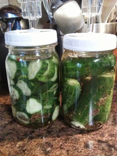 Canning and Cooking - Iowa Style - Fermented Garlic Dill Pickles