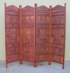 Oriental Furniture Small Low Height 4 Feet Short Window Pane
