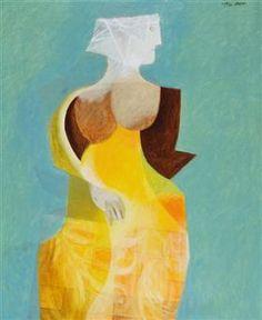 "Woman - Jean David Illustration for Sașa Pană's ""the romanticised life of god"" (1932)"