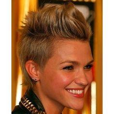 Die schönsten Fauxhawk-Frisuren! - kurzhaarfrisuren Frauen