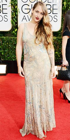 Red Carpet Arrivals - Jemima Kirke from #InStyle