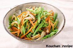 モロッコインゲンの油炒め | こうちゃんオフィシャルブログ「こうちゃんの簡単料理レシピ」Powered by Ameba