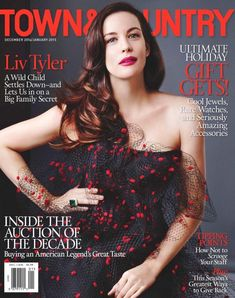 Magazine photos featuring Liv Tyler on the cover. Liv Tyler magazine cover photos, back issues and newstand editions. Steven Tyler, Liv Tyler, Celebrity Gossip, Celebrity News, Celebrity Couples, Bebe Buell, Town And Country Magazine, Fashion Magazine Cover, Magazine Covers