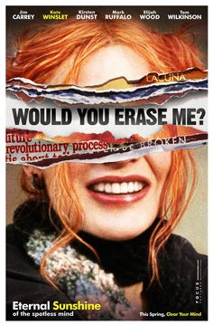 eternal Sunshine of the Spotless Mind with Jim Carrey and Kate Winslet
