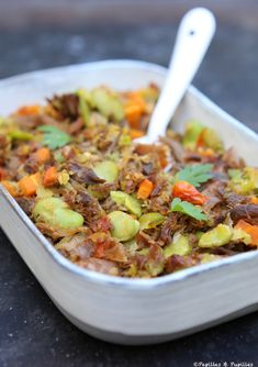 Cassoulet d'été - Lilly is Love Healthy Low Carb Recipes, Keto Recipes, Cooking Recipes, Food Trends, Curry, Good Food, Food And Drink, Healthy Eating, Beef