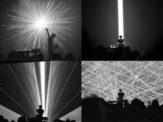 Performance visuelle live pour le concert de Mondkopf à la Gaîté Lyrique, 2011 © Trafik