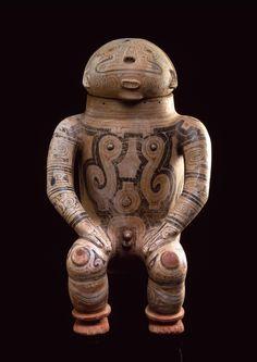 Urna antropormórfica precolombina - Museo Barbier-Mueller de Arte Precolombino