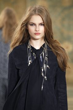 Inspired by London bohemia: in the spirit of the Chelsea girl #toryburch #toryburchfall15  #nyfw