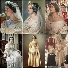 """Young Victoria"" - ""Queen Victoria"" - ""Victoria Victoria Itv, Victoria Series, The Young Victoria, Reine Victoria, Queen Victoria Family, Victoria And Albert, Queen Victoria Wedding Dress, Historical Costume, Historical Clothing"