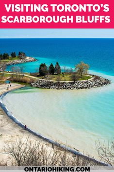 It's one of the most beautiful places in Toronto. Here's how to plan your visit to the Scarborough Bluffs. View these spectacular cliffs from the park (and go to the beach!) and admire the incredible scenery from the top. Hiking in Toronto | Toronto Hiking | Scarborough Bluffs | Bluffer's Park | Walking Trails in Toronto | Hiking Trails in Toronto | Toronto Bluffs | Toronto Scenic Views | Toronto Viewpoints | Cliffs in Toronto | Ontario Hiking Trails | Ontario Views Alberta Canada, Toronto Travel, Ontario Travel, Amazing Destinations, Travel Destinations, Travel Guides, Travel Tips, Travel Goals, Vancouver