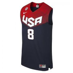 Team usa #official nike #basketball jersey away #george 8 vest size l,  View more on the LINK: 	http://www.zeppy.io/product/gb/2/122156171422/