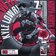 Poster Design for Toronto Raptor's Kyle Lowry Mvp Basketball, Basketball Design, Houston Basketball, Sports Graphic Design, Graphic Design Posters, Sport Design, Toronto Raptors, Raptors Wallpaper, Brainstorm