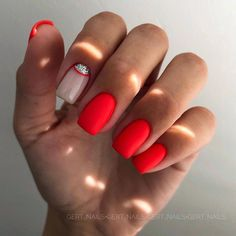 Newest Nail Design Ideas If you don't have time to urge your nails done professionally before a special event, don't worry, there area unit different Dream Nails, Love Nails, How To Do Nails, Pretty Nails, Colored Acrylic Nails, Cute Acrylic Nails, Neon Nails, Pastel Nails, New Nail Designs