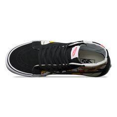 Vans Men's Hi Reissue Mickey Shoes - Black Top Shoes, Black Shoes, Mickey Shoes, Disney Vans, Vans Shop, Shoe Shop, High Tops, Fashion Shoes