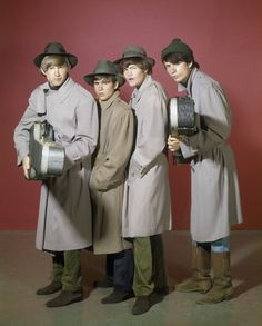 The Monkees>>I LOOOVED the Monkees. Had a monkees tshirt and everything. Love mike's hat too:)
