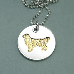 Hey, I found this really awesome Etsy listing at https://www.etsy.com/listing/103551011/golden-retriever-necklace-pierced
