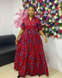 African Dresses For Kids, African Maxi Dresses, Latest African Fashion Dresses, Ankara Dress, African Outfits, African Attire, African Print Dress Designs, African Prints, African Fashion Traditional