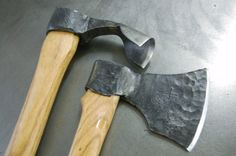 Handmade Wood Working Tools - Axes And Adzes by Iron John Logan / Iron Tree Forge | CustomMade.com