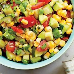 Sweet Corn Relish | Just what you need to jazz up grilled chicken, spoon over a pork chop, or stuff into a cheesy quesadilla.