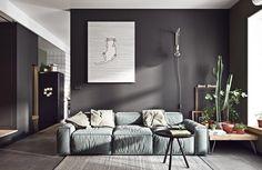 Un mini appartement aux couleurs scandinaves