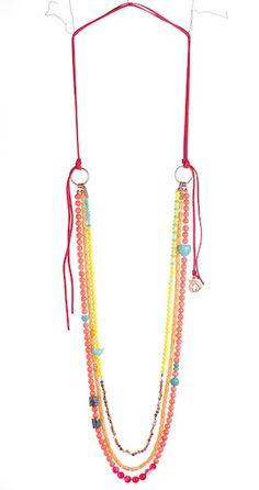 necklace - wear long via cord or wear shortened via clasp