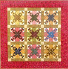 Primitive Folk art Quilt Pattern   Fields of by PrimitiveQuilting, $8.00
