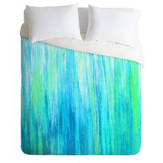Sophia Buddenhagen Aqua Stream Duvet Cover | DENY Designs Home Accessories