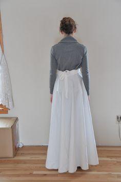Little & Trivial: Patternless Wrap Skirt Tutorial