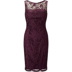 Adrianna Papell Guipure Lace Shift Dress, Mulberry ($155) ❤ liked on Polyvore featuring dresses, long-sleeve shift dresses, purple dress, lace midi dress, purple maxi dress and lace overlay dress