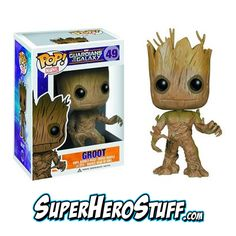 Need to finish the collection? This Groot POP! Vinyl is awesome. Gotta get Rocket Raccoon too!