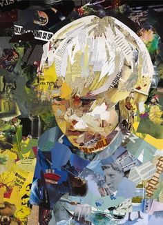 Webelos Artist req Create a collage about you. have them bring in a pic of themselves, then collage things they like on top. Art Du Collage, Collage Portrait, Collage Artists, Portraits, Portrait Paintings, Art Paintings, Abstract Portrait, Acrylic Paintings, Art And Illustration