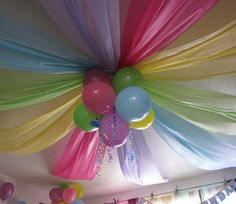 DIY: Kid Party Ceiling Decoration!