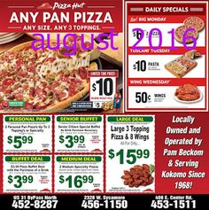 Printable Coupons: Pizza Hut Coupons