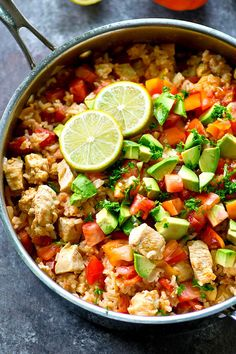 One-Pot Spicy Mexican Chicken and Rice