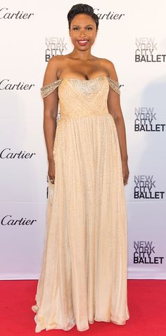 Look of the Day - Jennifer Hudson - from InStyle.com