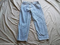 Levis Relaxed Fit 550 Mens Jeans Size 38 X 30