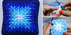 The Pillow Covering Crochet Tutorial - Pillow covering is a kind of useful crochet project needs in our home. To be honest mostly everyone can do this fascinating project, because of simply way and - Crochet Daisy, Crochet Leaves, Crochet Home, Free Crochet, Crochet Santa, Crochet Christmas, Knit Crochet, Crochet Cushions, Crochet Pillow