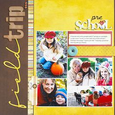 Shrink a Scrapbook Page Collage