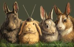 Rabbit Ears by ~Nambroth on deviantART