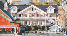 Victoria Hotel Kragerø Dating back to 1901, this hotel offers views of Gunnarsholm Strait and Kragerø Harbour. It provides free wired internet and a terrace. The cute shops and cafés of Kragerø are just a short walk from Hotel Victoria.