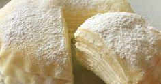 餃子の皮をスイーツに♪ もちもちミルクレープ風です! チョコクリームや抹茶クリームも美味しいです(o^^o)